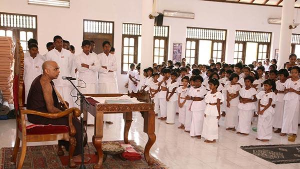 Dhamma school - English medium