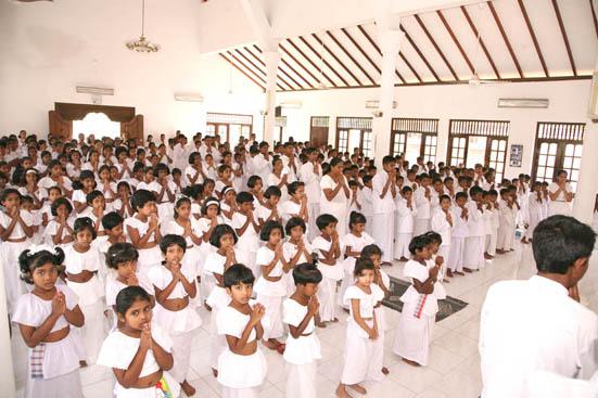 Sinhala Dhamma school at Battaramulla siri sudassanaramaya